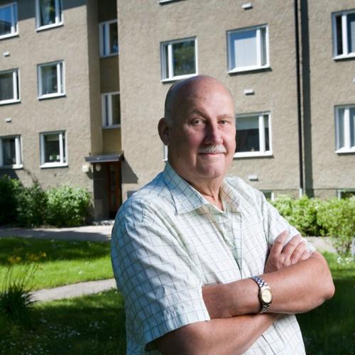 Roland Andersson, bostadsrättsföreningen Isänkan