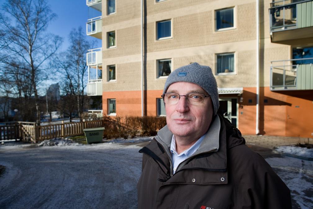 Carl-Eric Nilsson anlitade Radea för radonsanering och kontrollmätning