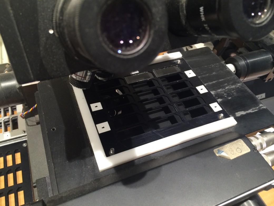 Radonmätning, mikroskop för mätanalys