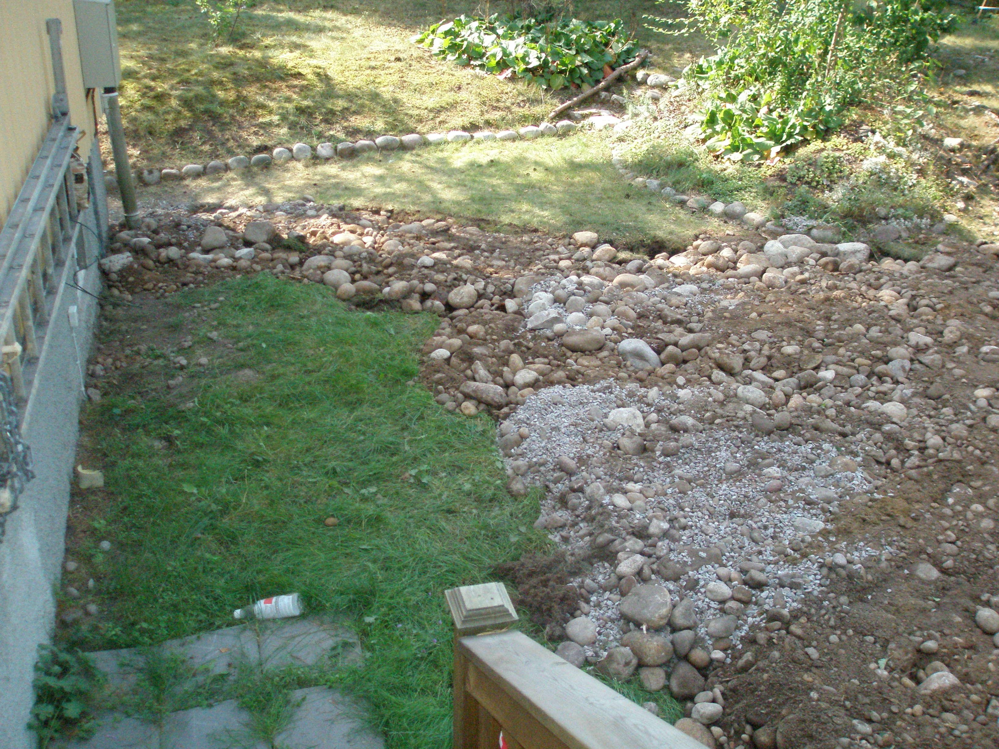 Efter installerad radonbrunn