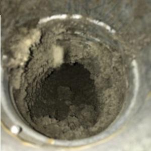 Smutsig ventilation